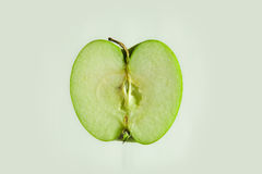 jabłczana połówka Fotografia Royalty Free