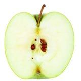 jabłczana połówka Fotografia Stock