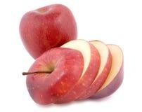 jabłczana rżnięta czerwień Fotografia Royalty Free