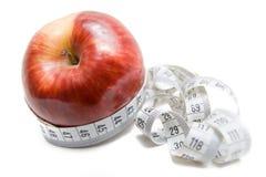 jabłczana taśma pomiarowa Fotografia Royalty Free
