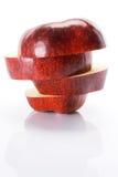 jabłczana wyśmienicie czerwień Zdjęcia Stock