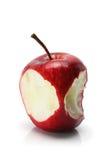 jabłczana wyśmienicie czerwień Zdjęcie Royalty Free