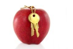 jabłczana złotego klucza czerwony Obrazy Royalty Free