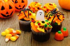 jabłczane carmel candied Halloween regularne przyjemności Obrazy Stock