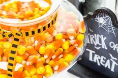 jabłczane carmel candied Halloween regularne przyjemności Fotografia Stock