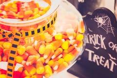 jabłczane carmel candied Halloween regularne przyjemności Obrazy Royalty Free