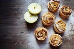 Jabłczane róże deserowe Fotografia Royalty Free