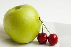 jabłczane wiśnie Fotografia Stock