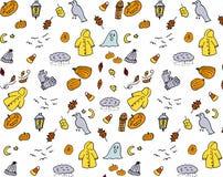 jabłczanego jesień świeczek składu susi liść target2422_0_ wazę Wzór robić jesień liście, acorn, sosna konusuje Mieszkanie nieatu Zdjęcie Royalty Free