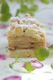 jabłczanego kulebiaka połysku szarlotka tradycyjny Fotografia Royalty Free