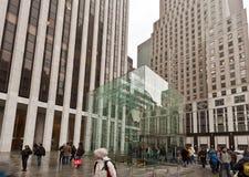 jabłczanego miasta nowy sklep York Zdjęcia Stock