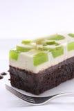 jabłczanego torta plasterek obrazy royalty free