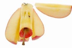 jabłczani kawałki Obraz Stock