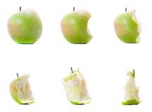 jabłczany łasowanie Zdjęcia Stock