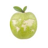 Jabłczany świat Obrazy Royalty Free
