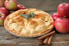 jabłczany świeży kulebiak Zdjęcia Stock