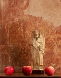 Jabłczany anioł 03 Zdjęcie Royalty Free