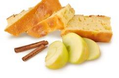jabłczany cynamonowy kulebiak Zdjęcia Royalty Free