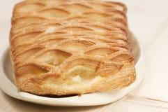 Jabłczany dżemu kulebiak Obrazy Royalty Free