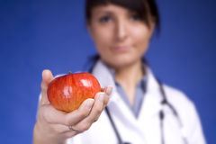 jabłczany dobry zdrowego odżywianie Obrazy Stock