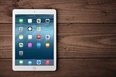 Jabłczany iPad powietrze 2 Fotografia Royalty Free