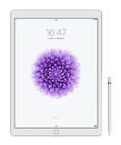 Jabłczany iPad Pro Obrazy Royalty Free