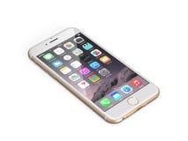 Jabłczany iPhone 6 Obrazy Royalty Free
