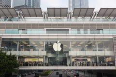Jabłczany iPhone 6 i iPhone 6 plus Obrazy Stock
