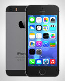 Jabłczany iphone 5s Fotografia Royalty Free