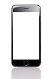Jabłczany iPhone 6 Z Pustym ekranem zdjęcia royalty free