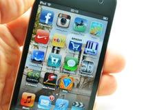 jabłczany Ipod zdjęcia stock
