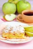 jabłczany kulebiak Obraz Royalty Free