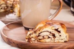 Jabłczany Pecan cukierki chleb zdjęcie stock