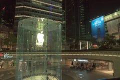 Jabłczany sklep w Szanghaj Chiny obraz royalty free