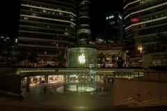 Jabłczany sklep w Szanghaj Chiny fotografia royalty free