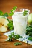 Jabłczany smoothie zdjęcia stock
