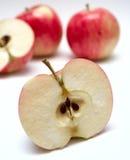jabłczany soczysty plasterek zdjęcia stock