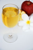Jabłczany sok i jabłko Obrazy Royalty Free