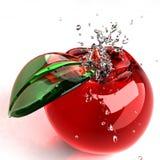jabłczany szkło Zdjęcie Royalty Free