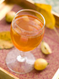 Jabłczany wino lub cydr Obrazy Stock