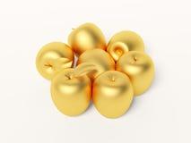 jabłczany złoto Fotografia Royalty Free