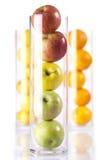 jabłek cytryn pomarańcze Obraz Stock
