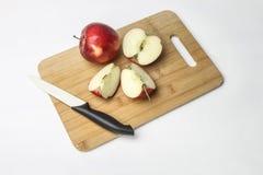 jabłek tła fotografii serie biały obraz stock