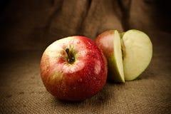 jabłka świezi Zdjęcia Royalty Free