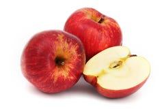 jabłka czerwoni zdjęcia royalty free
