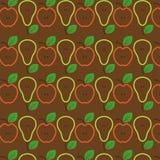 jabłka deseniują bonkrety bezszwowe również zwrócić corel ilustracji wektora fotografia royalty free