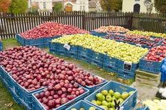 Jabłka dla sprzedaży Zdjęcia Stock