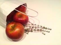 Jabłka i macierzanka zdjęcia stock