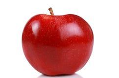 jabłka jeden czerwień Zdjęcia Royalty Free
