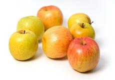 jabłka kolor żółty Zdjęcie Royalty Free